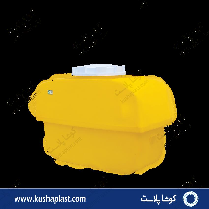 مخزن سمپاش 400 لیتری زرد