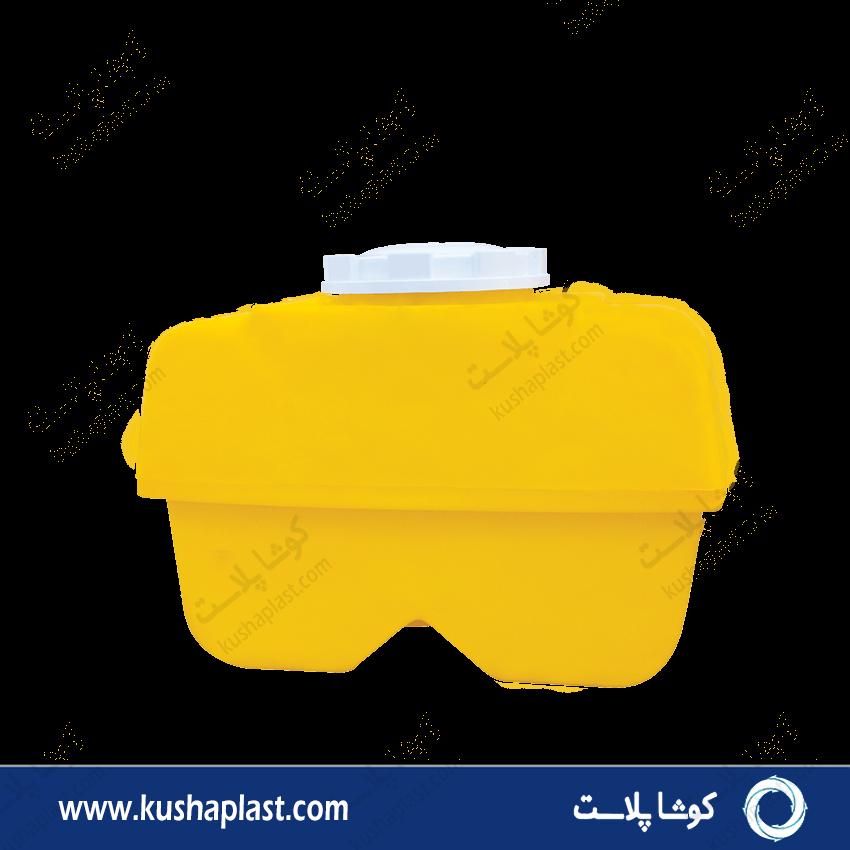 مخزن سمپاش 600 لیتری زرد